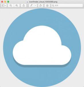 Macのプレビューで画像を開く