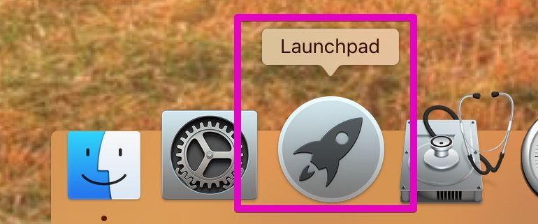 MacのDocのLaunchPad