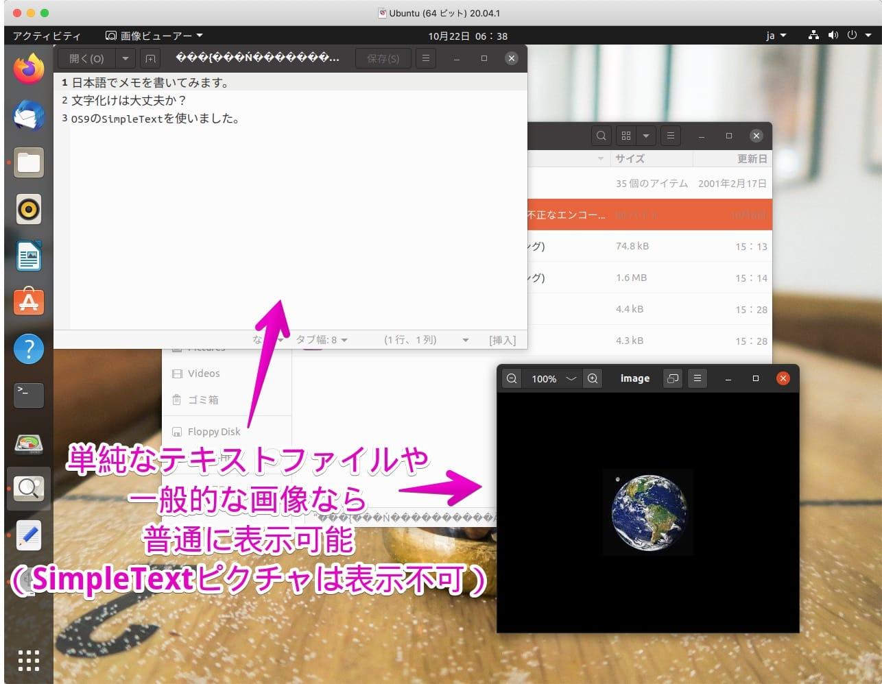 VMware上のUbuntu20でHFS読み込み