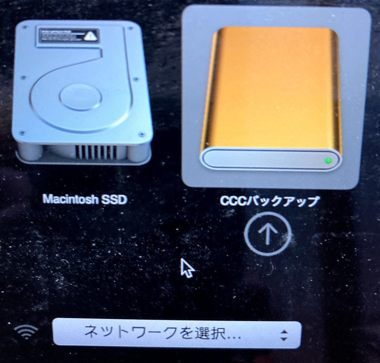 Macの「Startup Manager」