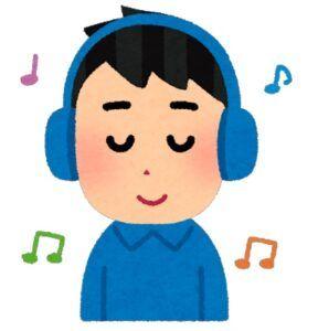 ヘッドフォンで音楽を聞きながらアラームを逃さない