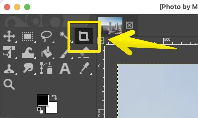 GIMPの「切り抜き」