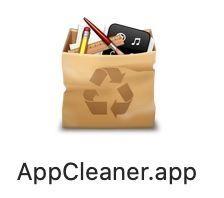 AppCleanerのアプリアイコン
