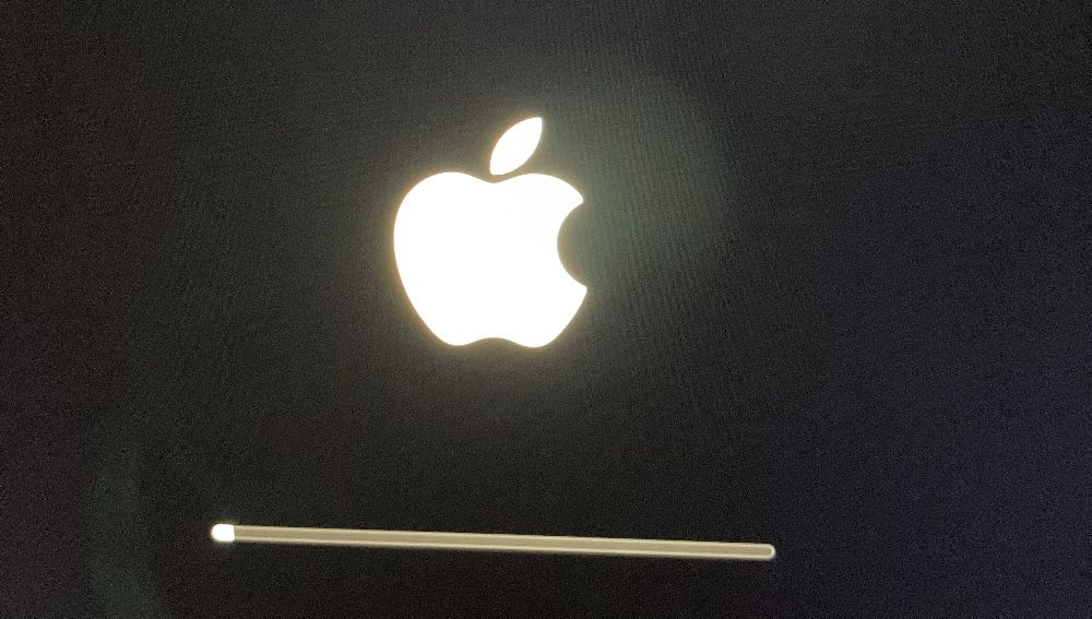 Macの起動画面