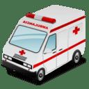 救急車のアイコン