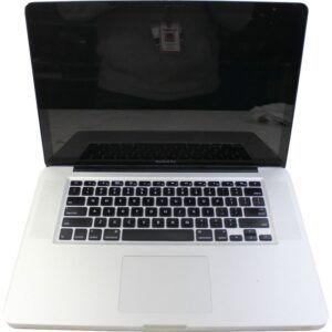 電源を落としたMacBook Pro