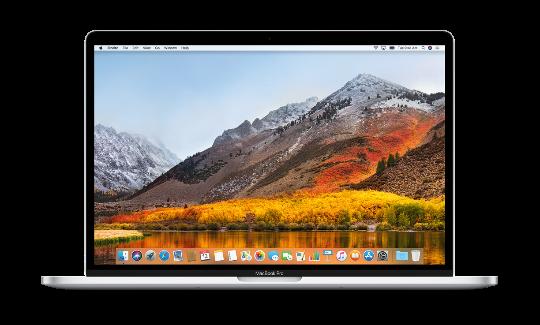MacBook Pro High Sierra