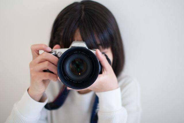カメラ女子
