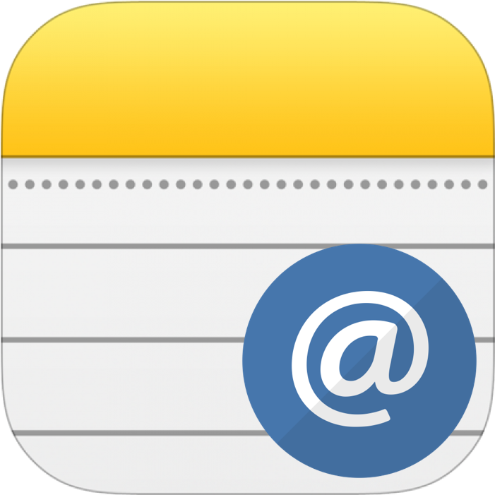 Apple Notes Account