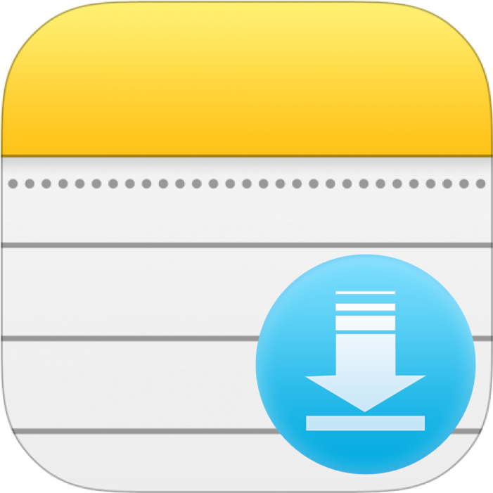 Apple Notes Export