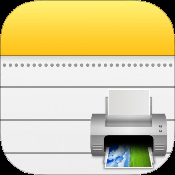 Apple Notes Print