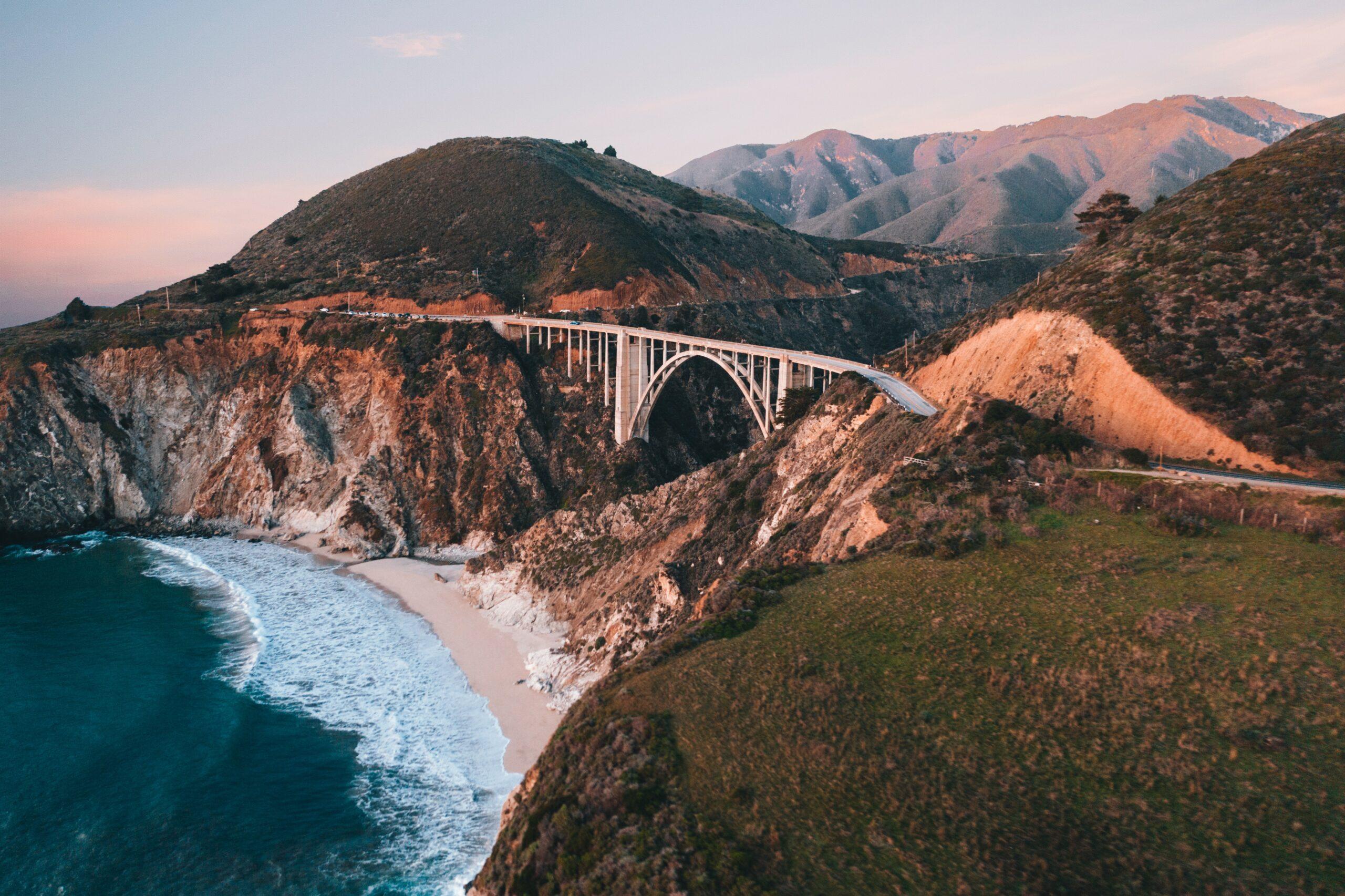 Big SurのPixby Creek Bridge