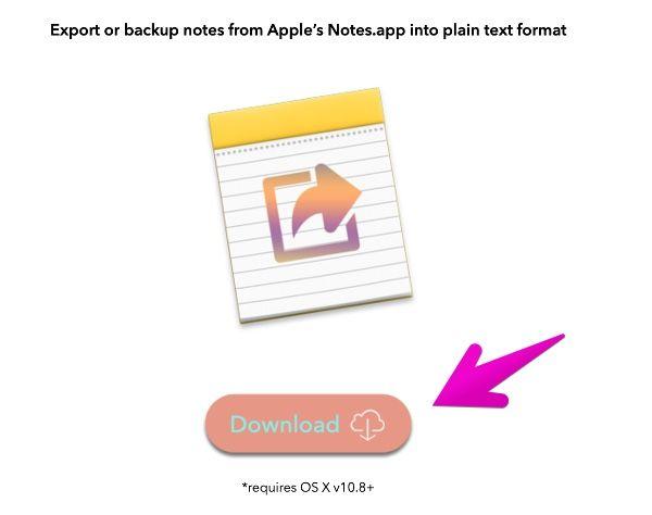 Macアプリ「Notes Exporter」公式サイト