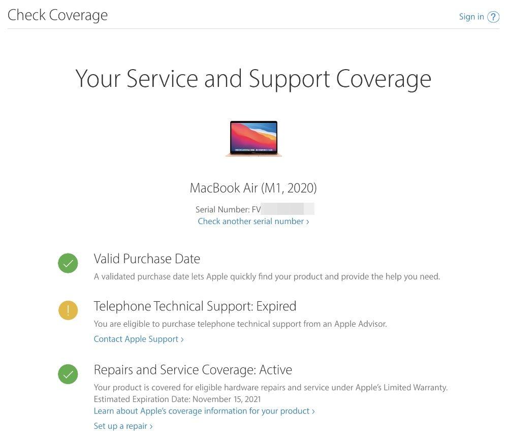 Apple Service Coverage
