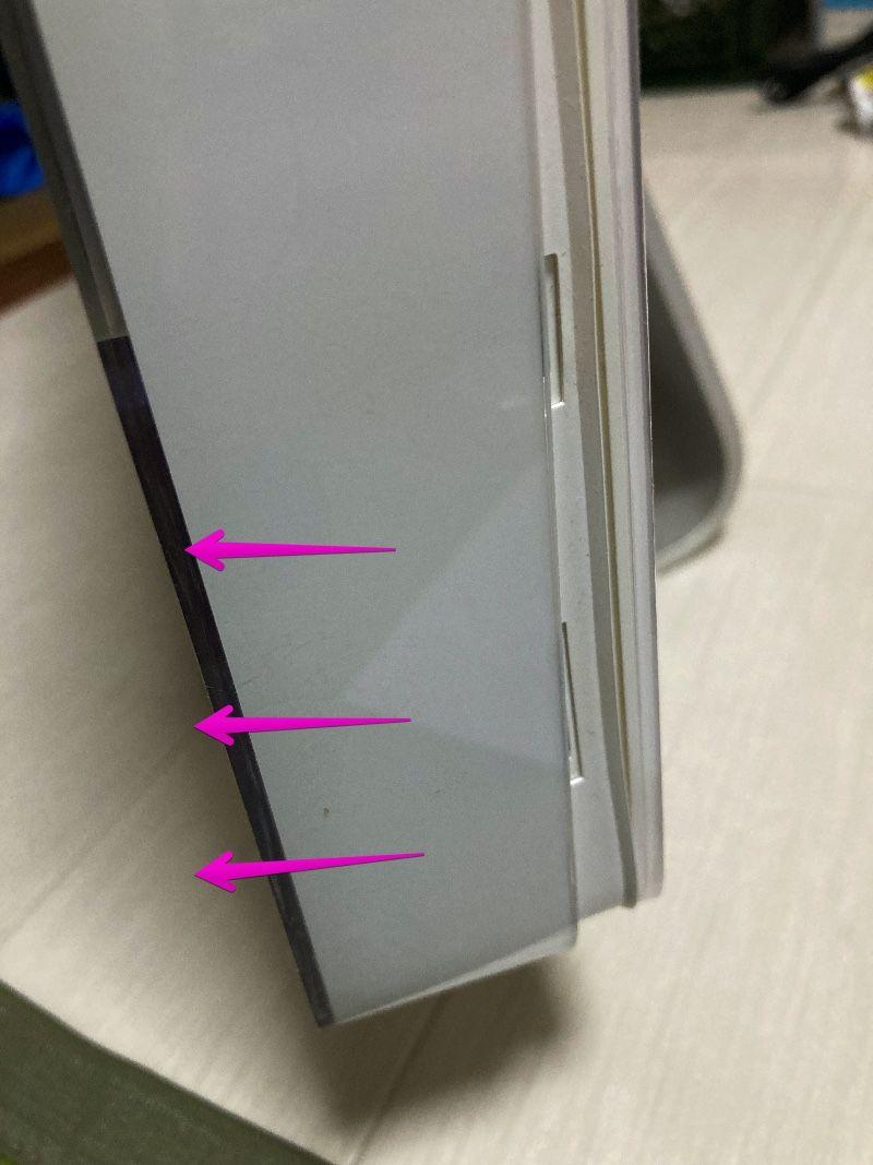 iMac 2006のフレームを外す