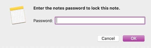 Lock Note