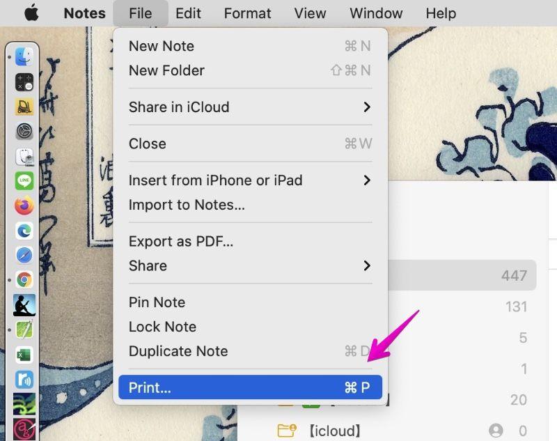 "Mac ""Notes"" Print"
