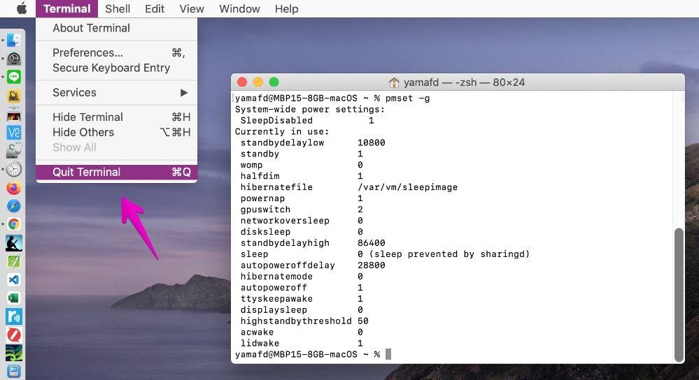 "Mac Finder ""Terminal"""