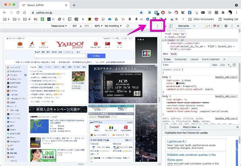Google Chrome Developer mode