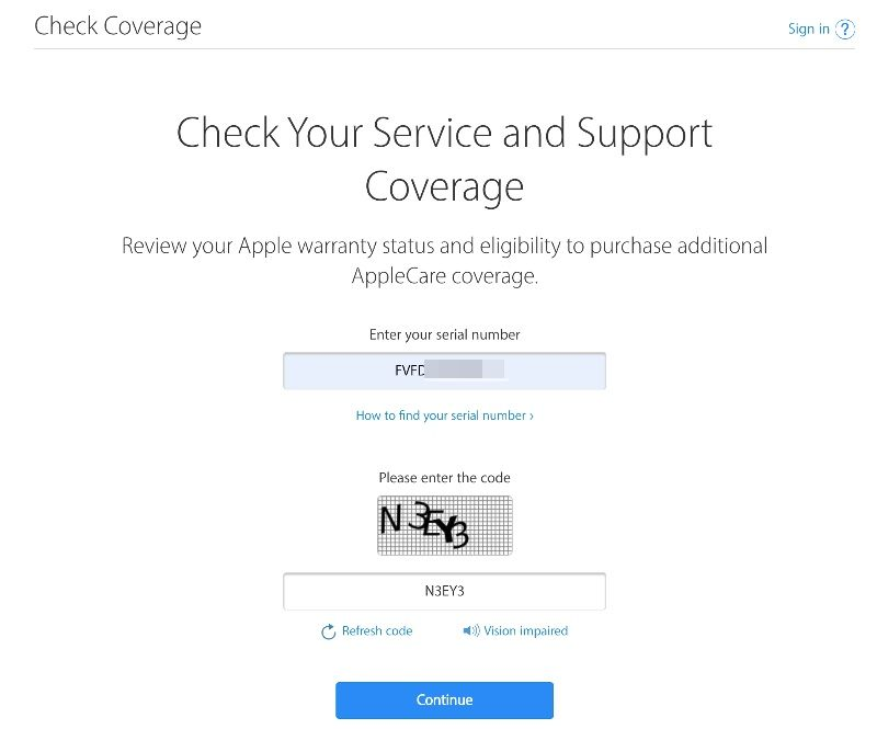 Check Your Service and Support Coverage