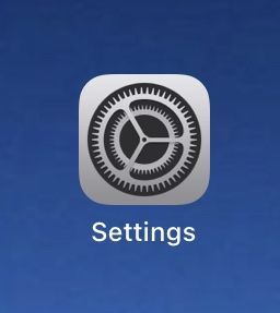 """iPad """"Settings"""" app"""